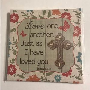 Other - Christian Printed Canvas Home Decor Picture 8x8